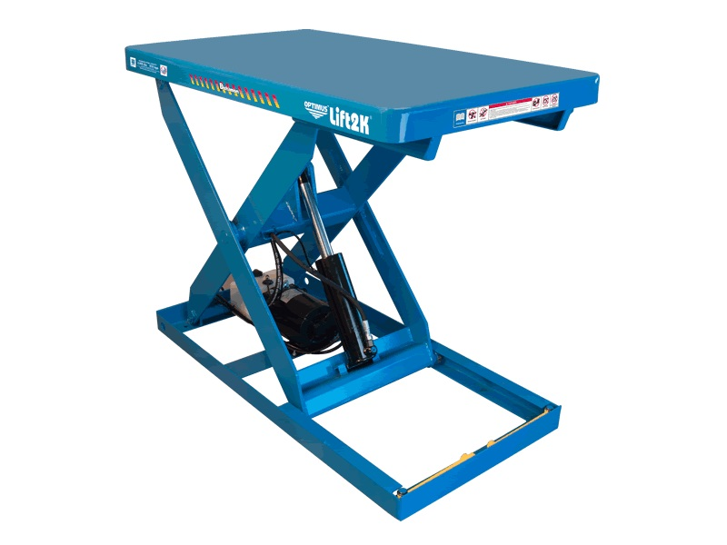 Electric-Hydraulic Scissor Lift Tables