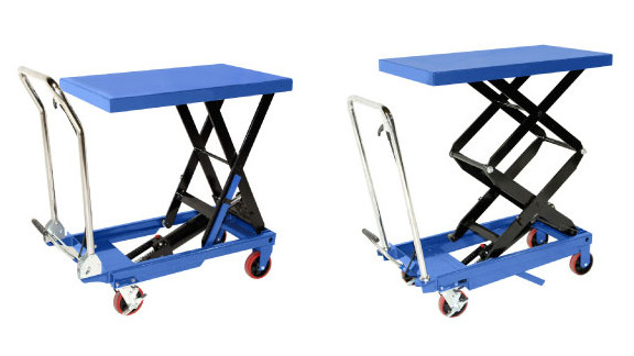 Mobile Foot Pump Lift Tables
