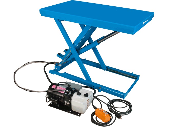 Low Profile Electric-Hydraulic Scissor Lift Table