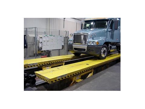 Truck Assembly Hydraulic Lift