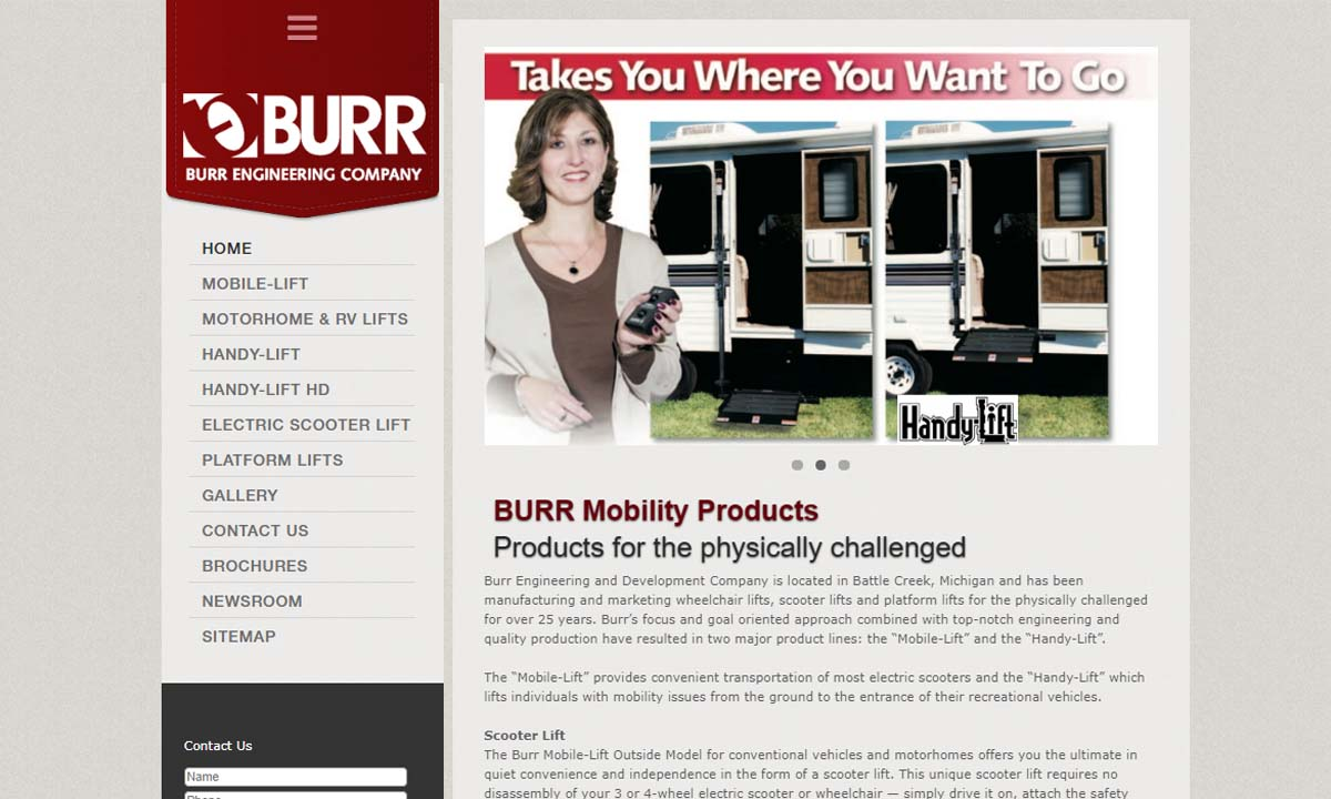 Burr Mobile Lifts