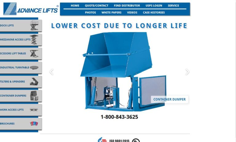 Advance Lifts, Inc.