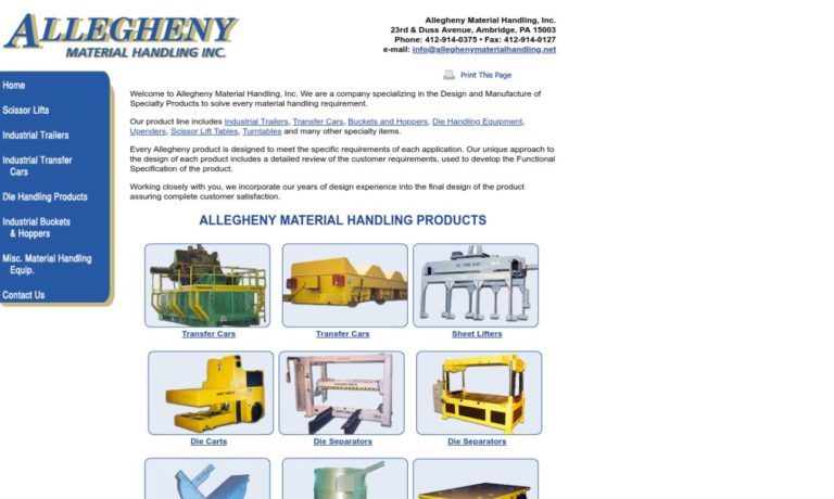 Allegheny Material Handling Inc.