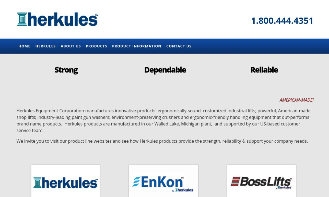 Herkules Equipment Corporation