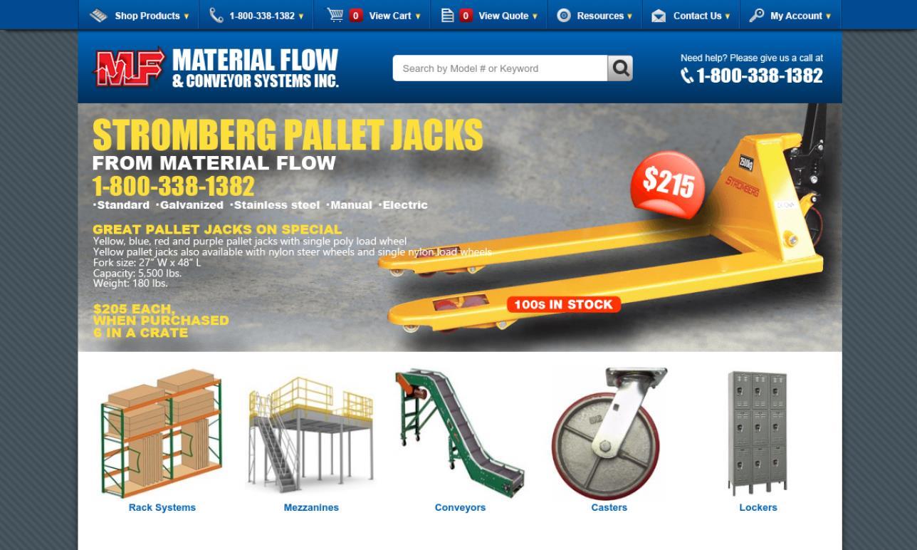 Material Flow & Conveyor Systems, Inc.