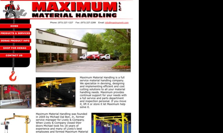 Maximum Material Handling LLC