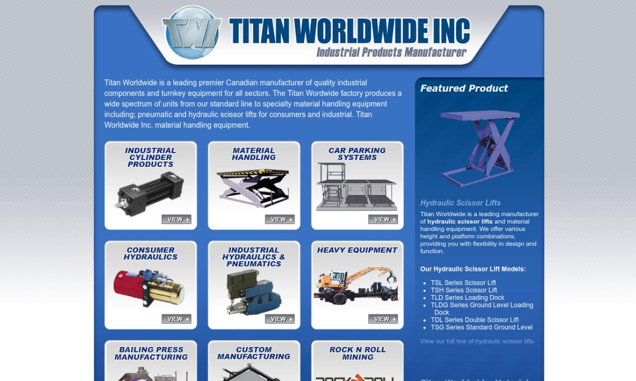 Titan Worldwide Inc.